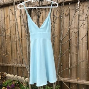 Mendocino Light Blue Dress